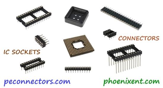 Phoenix Enterprises Connectors Sockets For Electronics